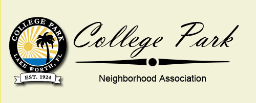 College Park Homeowners Association Lake Worth Florida