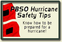 PBSO Hurricane Safety Tips